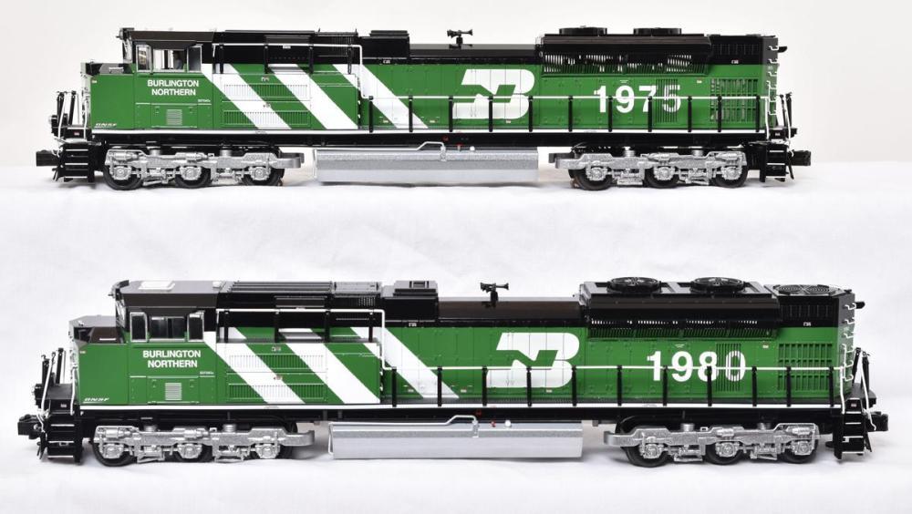 Lionel BNSF Heritage Burlington Northern SD-70ACe Powered