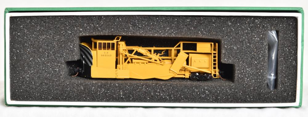 Overland Models N scale brass OMI-28073.1 Union Pacific Jordan Spreader snow plow