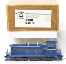 Oriental Limited HO brass Baltimore and Ohio SW-9 diesel locomotive