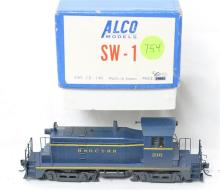 Alco Models HO brass Baltimore and Ohio / CTRR D-140 SW-1 switcher