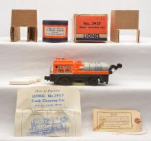 Lionel Postwar 3927 Track Cleaning Car 3927-50 Wiping Cylinders MINT Boxed