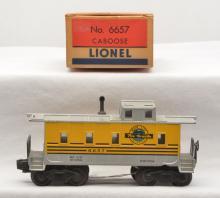 Lionel Postwar 6657 Rio Grande Caboose Boxed