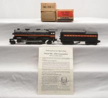 Lionel Postwar 250 Steam Loco 250T Pennsylvania Tender w/Orange Striping Boxed