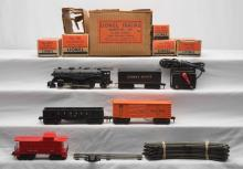 Lionel Postwar Scout Freight Set 1119 with 1110 1001T 1002 1004 1007 Boxed