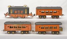 Ives Prewar O Gauge Southern Special Pass Set 482 with 3261 133 133 134