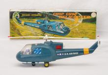 Marx no. J-9923 Battery Operated Chop Chop Helicopter w/Lighted Blades Boxed