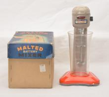George G. Wagner Japanese Battery Operated Malted Mixer Boxed