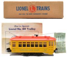 Lionel Postwar 60 Lionelville Rapid Transit Trolley MINT Boxed