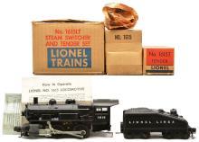 Lionel Postwar 1615 Steam 1615T Slope-Back Tender MINT OB in 1615LT Mastercarton