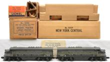 Lionel Postwar 2354P/2354T NYC F3 AA Diesel Units Boxed in Master Carton