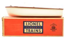 Lionel Postwar 6801-60 Boat White Hull Brown Deck in Separate Sale Box MINT