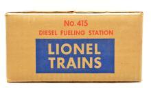 Lionel Postwar 415 Diesel Fueling Station Factory Sealed in OB MINT