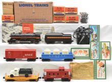 Lionel Postwar Freight Set 1590 with 249 250T 6014 6151 6112 6017 MINT Boxed