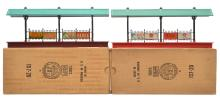 Lionel Postwar Station Platforms 157 w/Red Base 157w/Maroon Base MINT Boxed