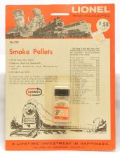 Lionel Postwar BSP Smoke Pellets Factory Sealed in Blister Pack MINT