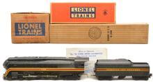 Lionel Postwar 746 N&W Loco 746W Long Stripe Tender Boxed 746LTS Mastercarton