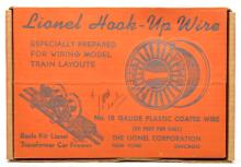 Lionel Postwar No. 40 Eight Reels of Hook Up Wire MINT Boxed