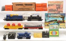 Lionel Postwar Alaska Set 1611 w/614 6825 6162-60 6465 6027 MINT Tan Set Boxed