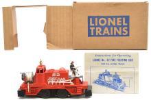 Lionel Postwar 52 Fire Fighting Car MINT Boxed