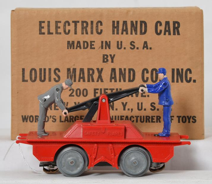 Marx Electric Hand Car