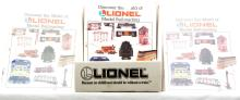 Lionel Dealer Display w/Discover the World of Lionel Model RR Mini Catalogs 1993