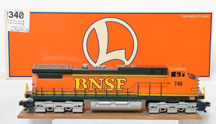 Lionel modern O gauge 18234 BNSF Dash-9 diesel locomotive