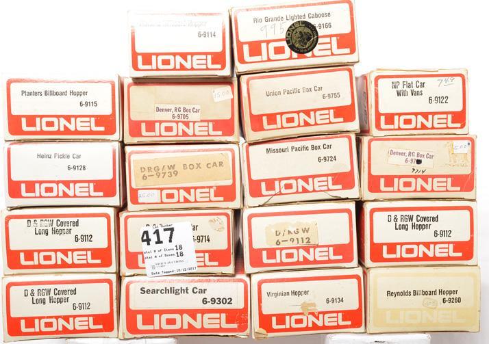 LIONEL 6-9724 MISSOURI PACIFIC BOX CAR VINTAGE  NEW C9