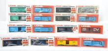 16 Lionel modern O gauge freight cars 9438 9717 9737 9782