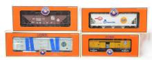 6 Lionel LCCA cars and Gold Medal hopper, 52543, 52491, 52412, etc.