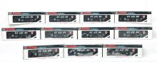 Group of 11 Lionel O gauge 19312 Reading hoppers
