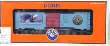 Lionel O gauge 29925 Polar Express 2005 Toy Fair boxcar