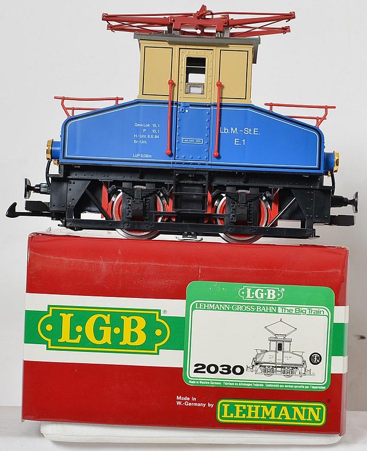 Lgb 2030 E Mixnitz And St Erhardt Electric Locomotive