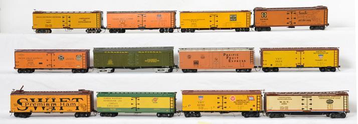 LOT OF 12 CANADIAN RAIL RAILROAD HISTORICAL MAGAZINE PUBLICATIONS 1974 1975