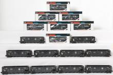 17 Lionel B&O hoppers 9110 and tank car 16109