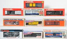 10 Lionel B&O Freight Cars, 17882, 16109, 9420, 9783, 9712, 9210, 9701