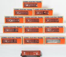12 Lionel LOTS 1990 Convention Car, 17882, with ETD
