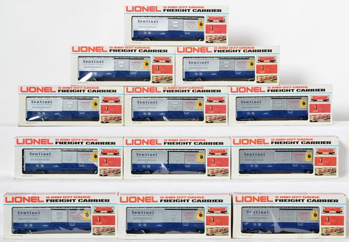 12 Lionel B&O Sentinel Boxcar, 9420
