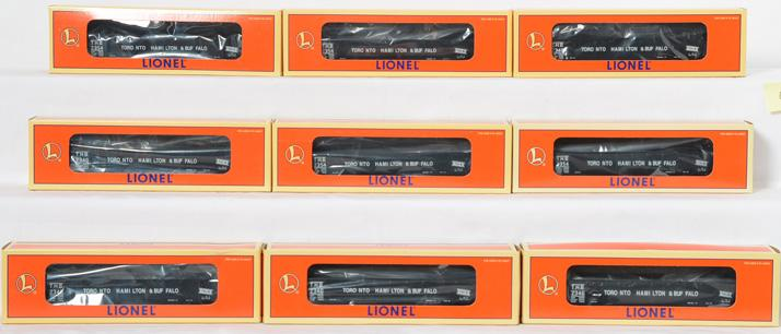 9 Lionel Collectors Club of Canada TH&B 9620 Gondola