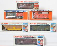 6 Lionel Canadian Club Canadian National Freight Cars, 900013, 830005, 88011, 840006, 87010, 86009