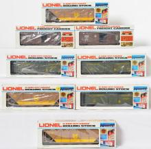 8 Lionel Canadian Collectors Canadian National Freight Cars, 830005, 840006, 87010