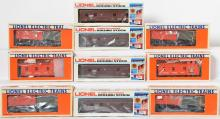10 Lionel Canadian Collectors Canadian National Freight Cars, 88011, 900013, 86009
