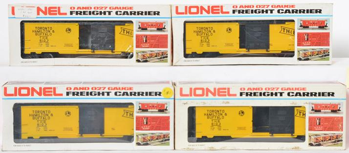 4 Lionel Canadian Collectors TH&B Boxcar, 8103
