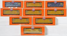 9 Lionel Collectors of Canada Freight Cars, 52245, 52245-1