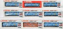 9 Lionel LOTS Dow Chemical Tank Car, 38356