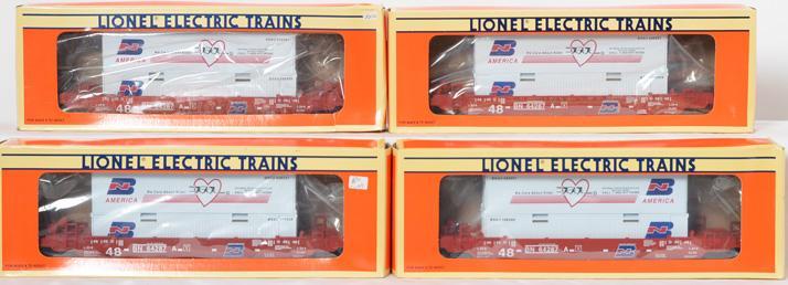 4 Lionel Chicagoland Lionel Railroad Club Maxi Stack, 52101