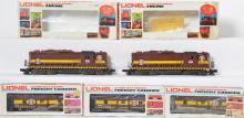 Lionel Duluth Missabe GP-35 8158-8159 and 3 Bay Window 6422