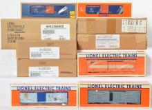 10 Lionel Convention Freight Cars, 17884, 29200, 19947, 17870, 52266