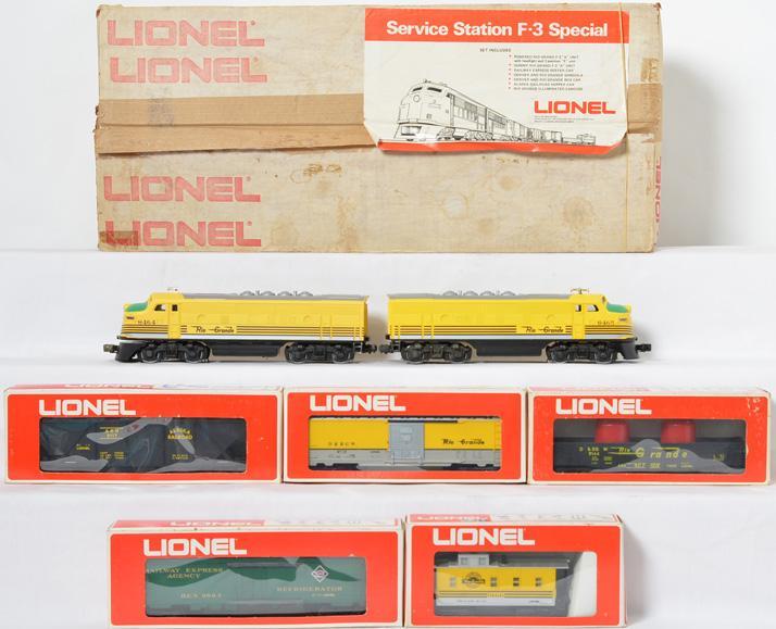 Lionel 1450 Service Station F-3 special set