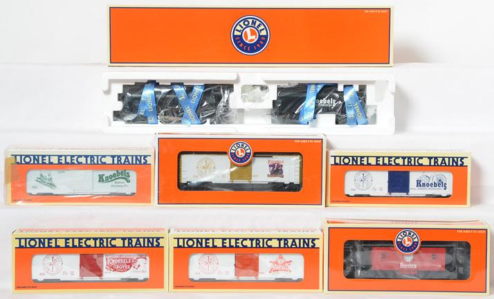 Lionel Knoebels Train Set, 52286, 52132-34, 52249, 52070