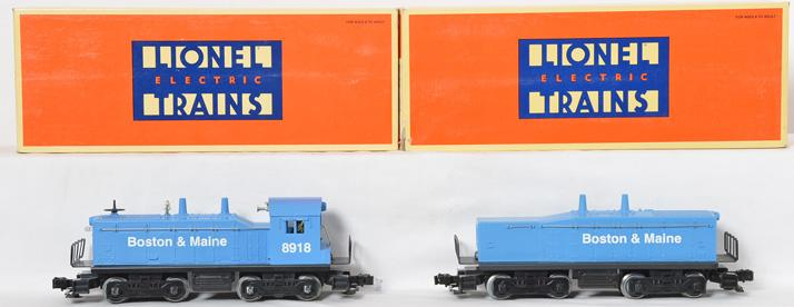 Lionel Boston & Maine Switcher and Calf Unit, 18918, 18929